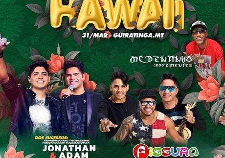 GUIRATINGA - Baile do Hawaii 31 de Março