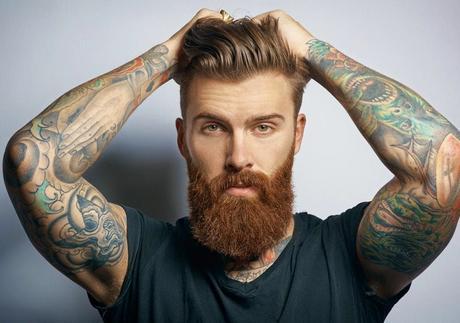 Tendências para barbas 2018