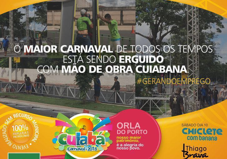 CARNAVAL CUIABÁ - Orla do Porto Desfile de blocos