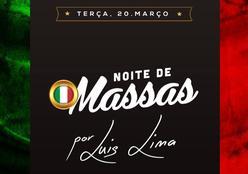 OFFICINA -  Noite de Massas por Luis Lima