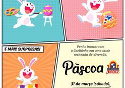 Shopping  oferece programação gratuita para crianças no Sábado de Aleluia
