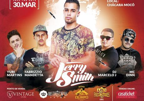 JERRY SMITH - 30 de março em Rondonópolis