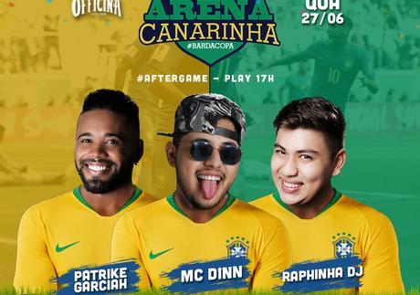 OFFICINA -  Arena Canarinha - 27 de Junho