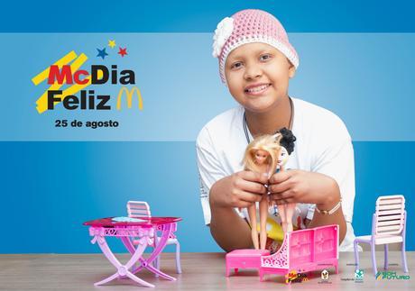 Hospital de Câncer inicia a venda de tíquetes e camisetas do McDia Feliz