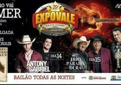 29ª Expovale terá  Rodeio Profissional e Shows Nacionais