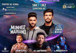 Confirmado Show Nacional de Munhoz e Mariano em Guiratinga