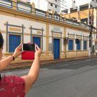 Centro Histórico de Cuiabá recebe evento de fotografia com celular