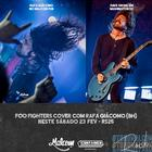 Cover nacional de Dave Grohl, Rafa Giácomo toca clássicos do Foo Fighters no Malcom Pub