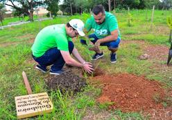 Mais de 800 mudas de espécies nativas são plantadas e distribuídas na Morada do Ouro