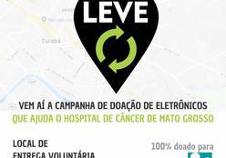 Campanha arrecada lixo eletrônico em prol ao Hospital de Câncer