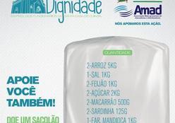 Supermercados aderem à campanha e reduzem preço dos itens da cesta básica para doação