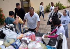 Entidades que atendem crianças carentes recebem doações da Setasc