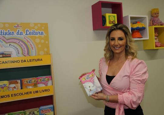 Brinquedoteca idealizada pela 1ª dama auxilia no benefício emocional de crianças