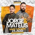Venda de ingressos para o show único e limitado de Jorge e Mateus estão liberadas