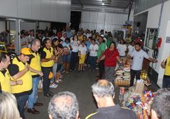 Arca realiza entrega de quase 8 toneladas de alimentos a instituições
