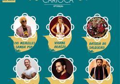 """""""Feijão Carioca"""" traz Viviane Araújo, Ivo Meirelles e bateria do Salgueiro para Cuiabá"""