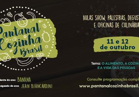 Cuiabá sedia nos dias 11 e 12 outubro, a edição 2019 do maior evento de gastronomia do Estado