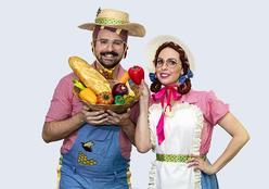 """Peça de teatro gratuita """"Do campo a mesa"""" para crianças chega à cidade de Campo Verde (MT)"""
