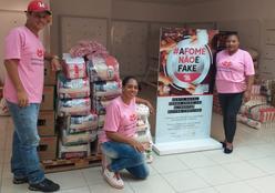 Pantanal shopping arrecada 11 toneladas de alimentos para a campanha Natal Sem Fome