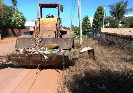 Primeiro Mutirão de Limpeza é finalizado e retira mais de 500 cargas de lixo de todo o município de Vera