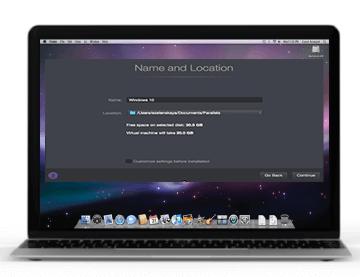 Mac screen with open dialog window