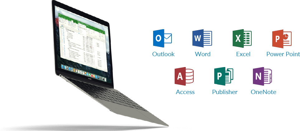 Laptop and MS Office programs