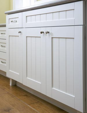 Retro Fit Kitchen Cabinet To Bath