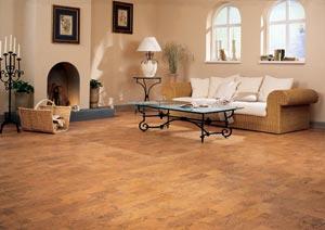 Oak Cork Flooring from Wicanders