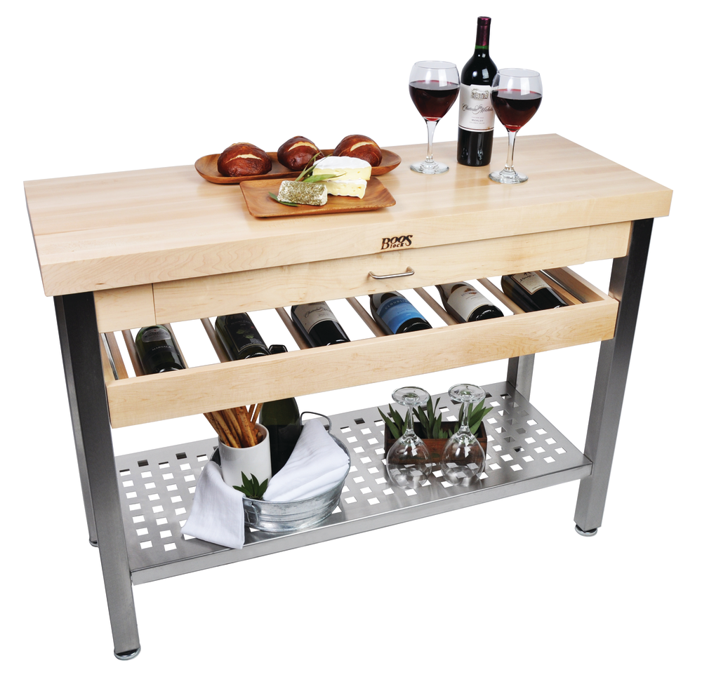 kitchen table with wine storage credenza table amp wine rack kitchen bath design 8647