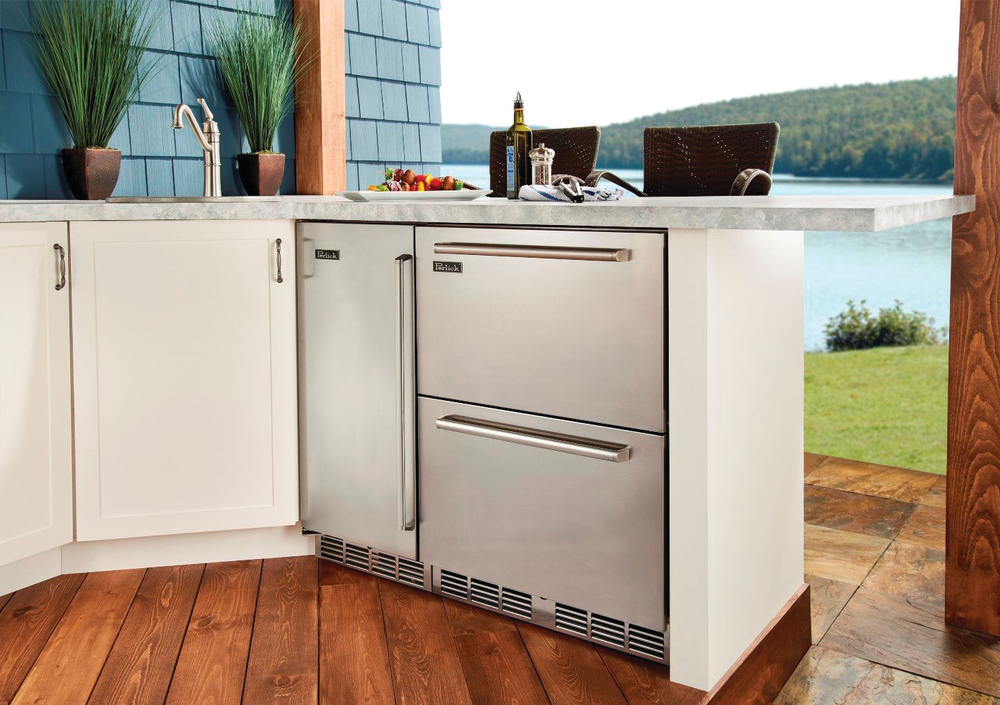 Dual Zone Refrigerator Freezer Drawers For Residential Pros