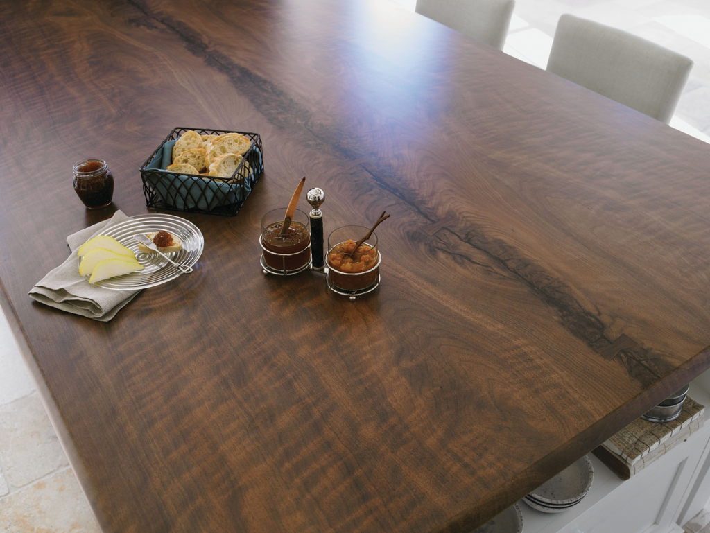 Black Walnut Timber Laminate Countertops For Residential
