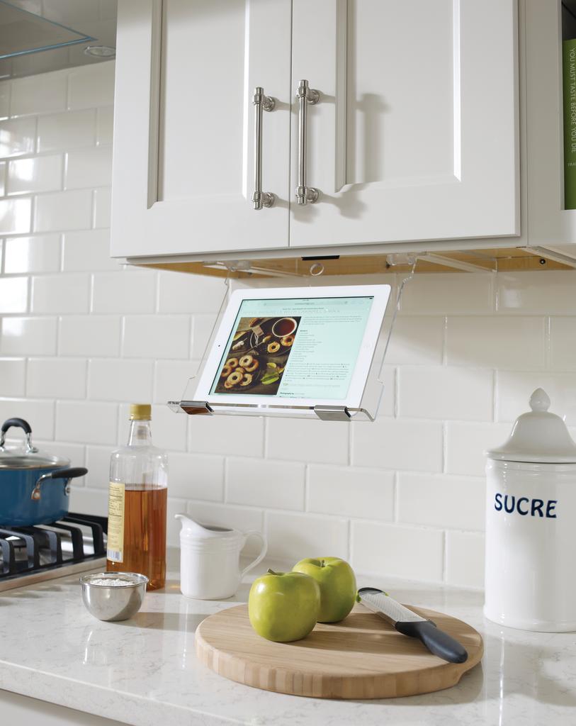 Under Cabinet Tablet Holder For Residential Pros