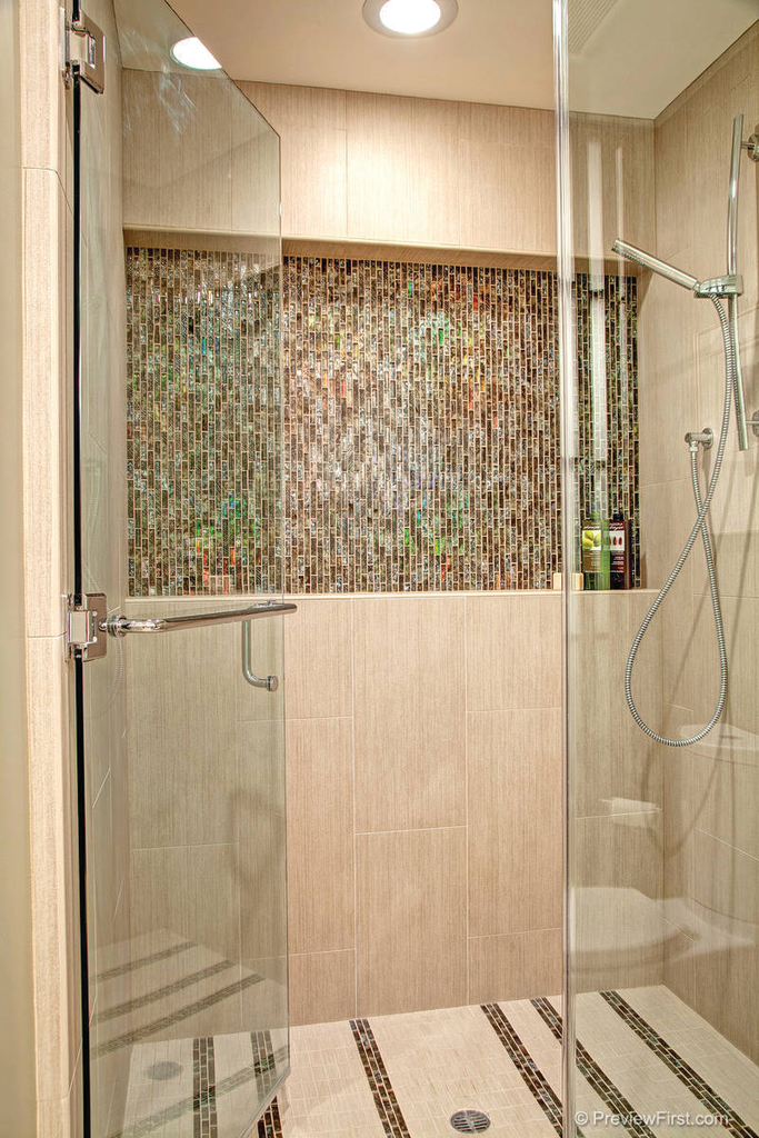 Tile Creates A Waterfall Effect For Residential Pros