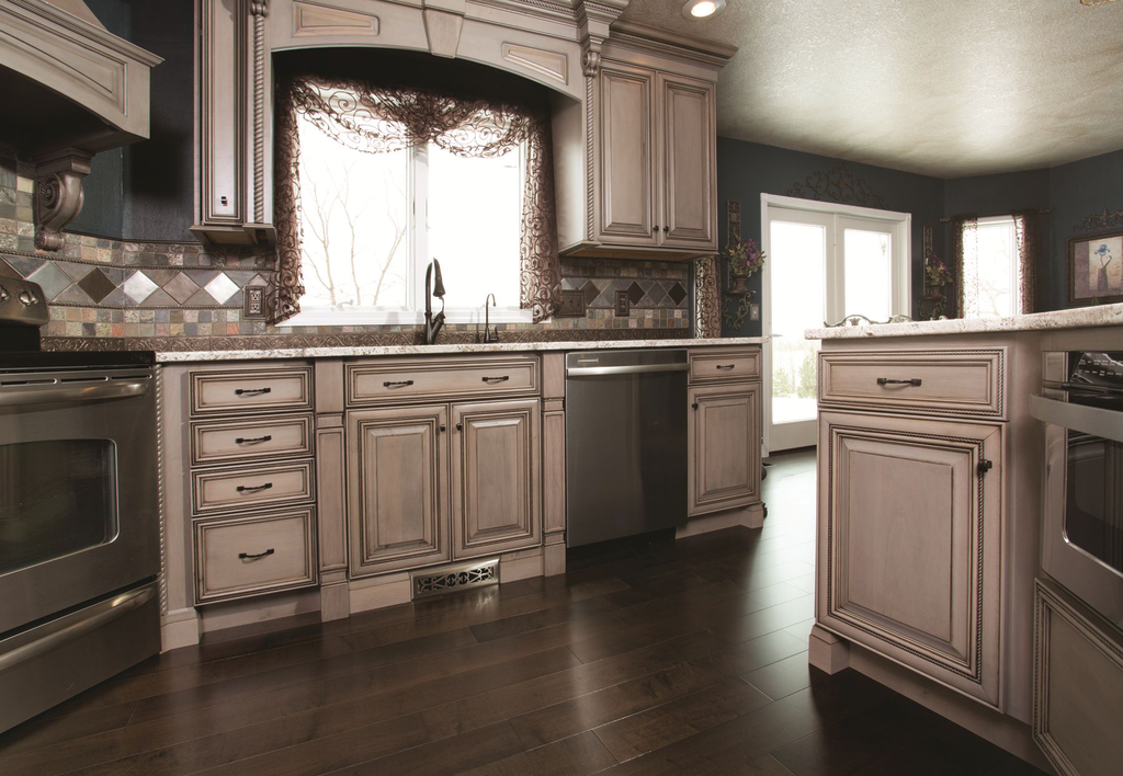 Driftwood Cabinet Finish For Residential Pros