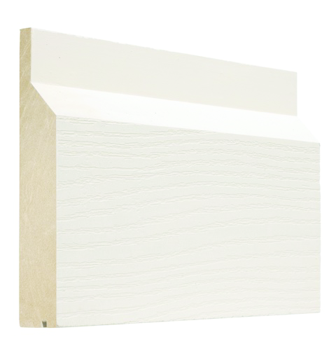 Skirt Board With Integrated Drip Edge For Residential Pros