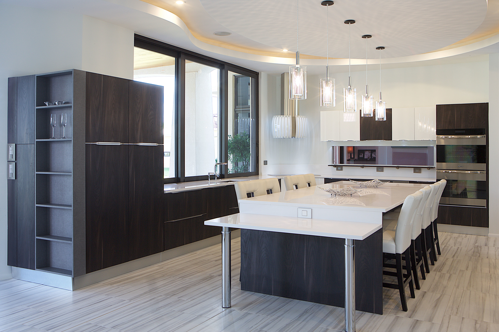 Contemporary Kitchen Features Family-Friendly Design