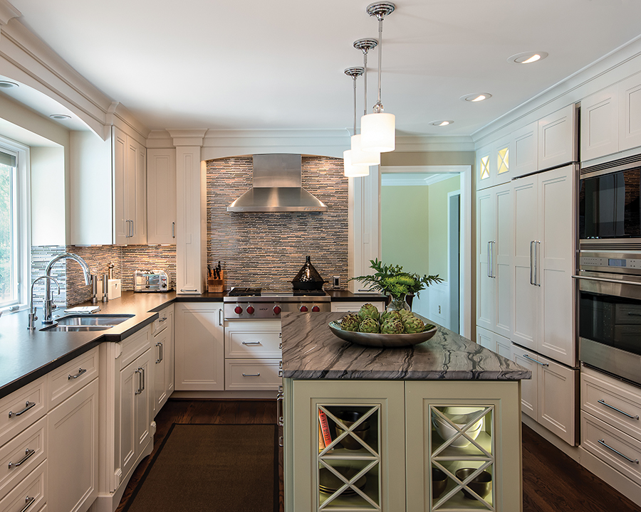 Luxury Impresses In Small Kitchens