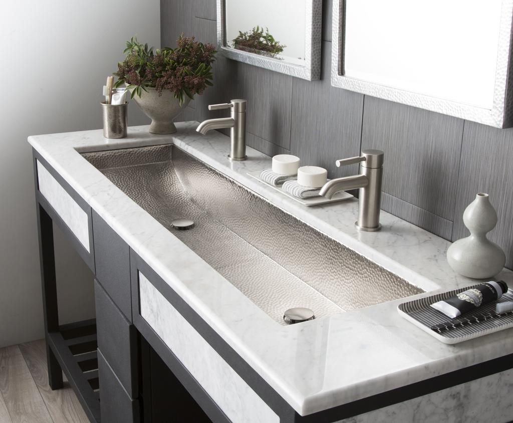 Trough Bath Sink For Residential Pros