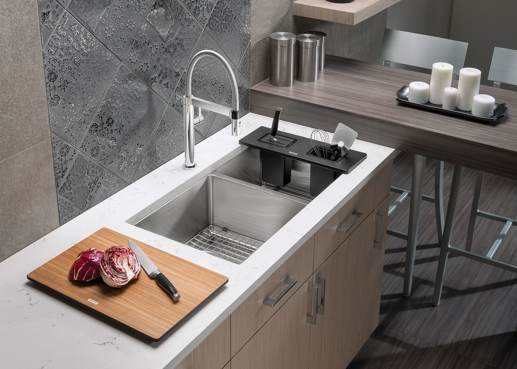Quatrus Kitchen Sink Accessories For Residential Pros