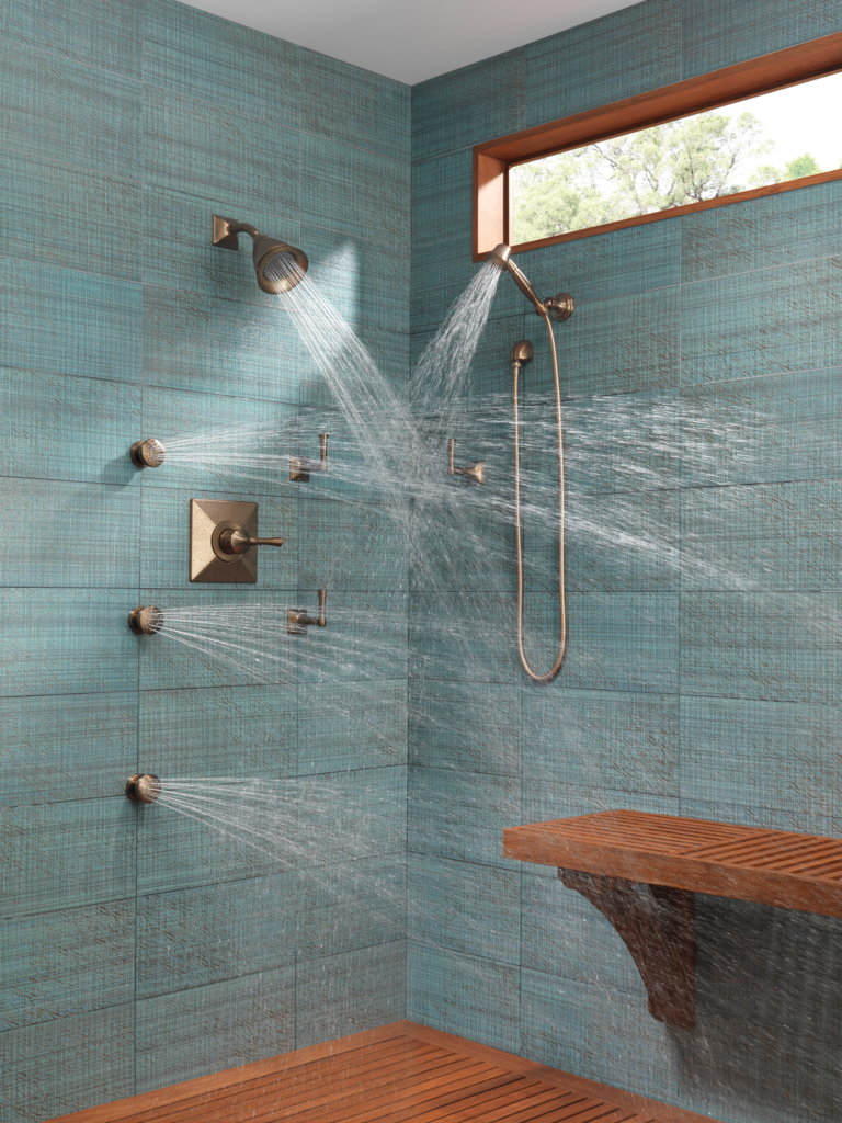 Sensori Custom Shower Systems For Residential Pros