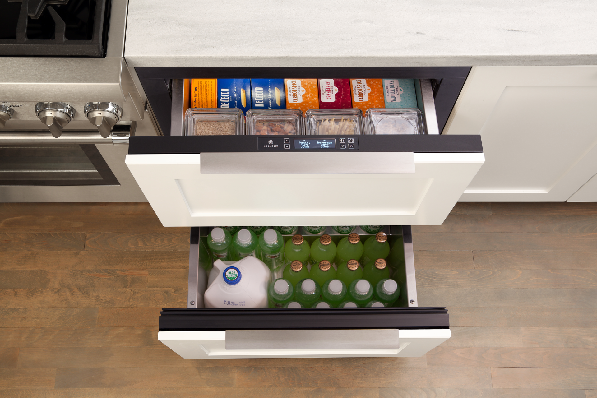 Undercounter Refrigerator Drawers For Residential Pros