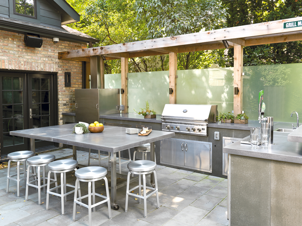 Outdoor Kitchens as a Growth Driver | Remodeling Industry ... on Patio Kitchen Designs id=53265