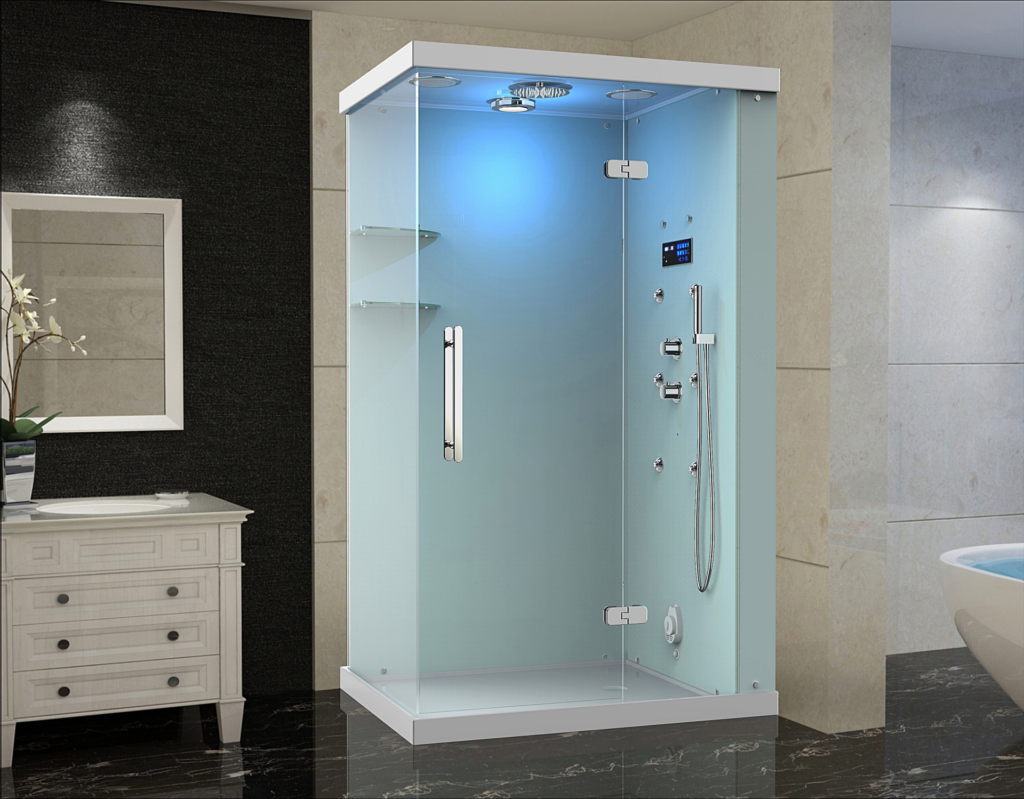 Ovato steam shower for residential pros - What uses more water bath or shower ...