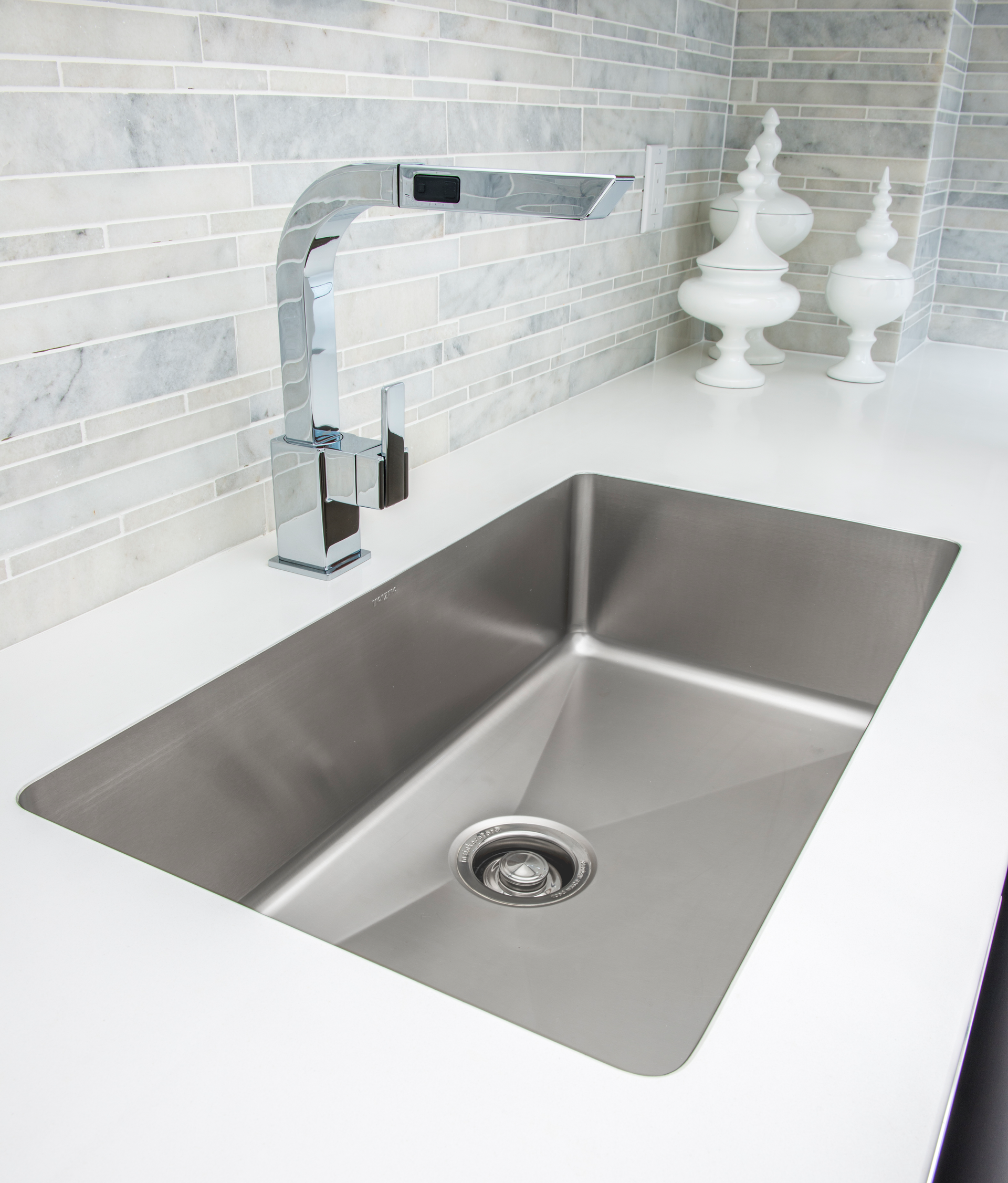 porcelin kitchen sinks seamless edge sink for residential pro 1599