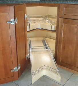 easy access corner cabinet