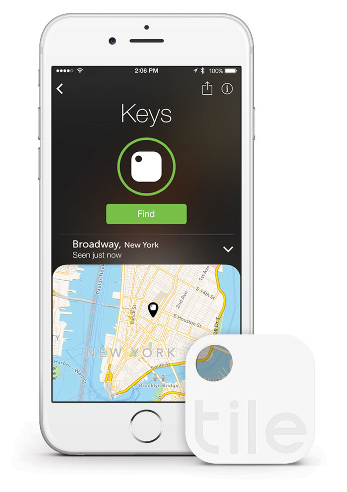 Locate items with Bluetooth device, app pairing | Remodeling