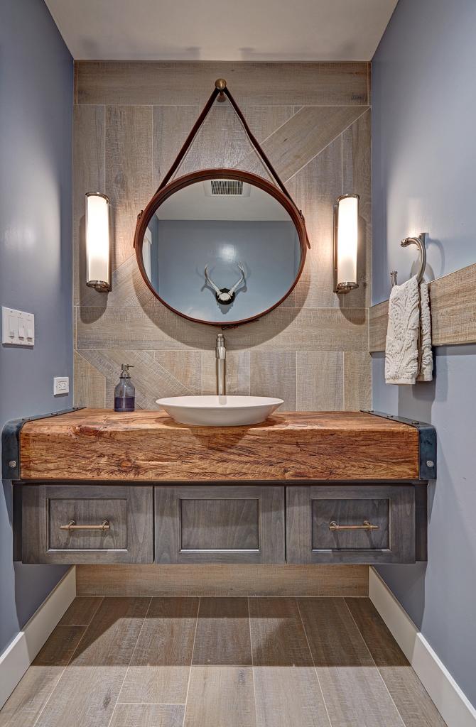 Powder Rooms Kbda 2016 Bronze Winner Kitchen Bath