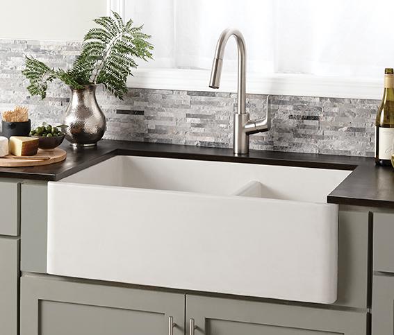 Farmhouse Concrete Sink For Residential Pros
