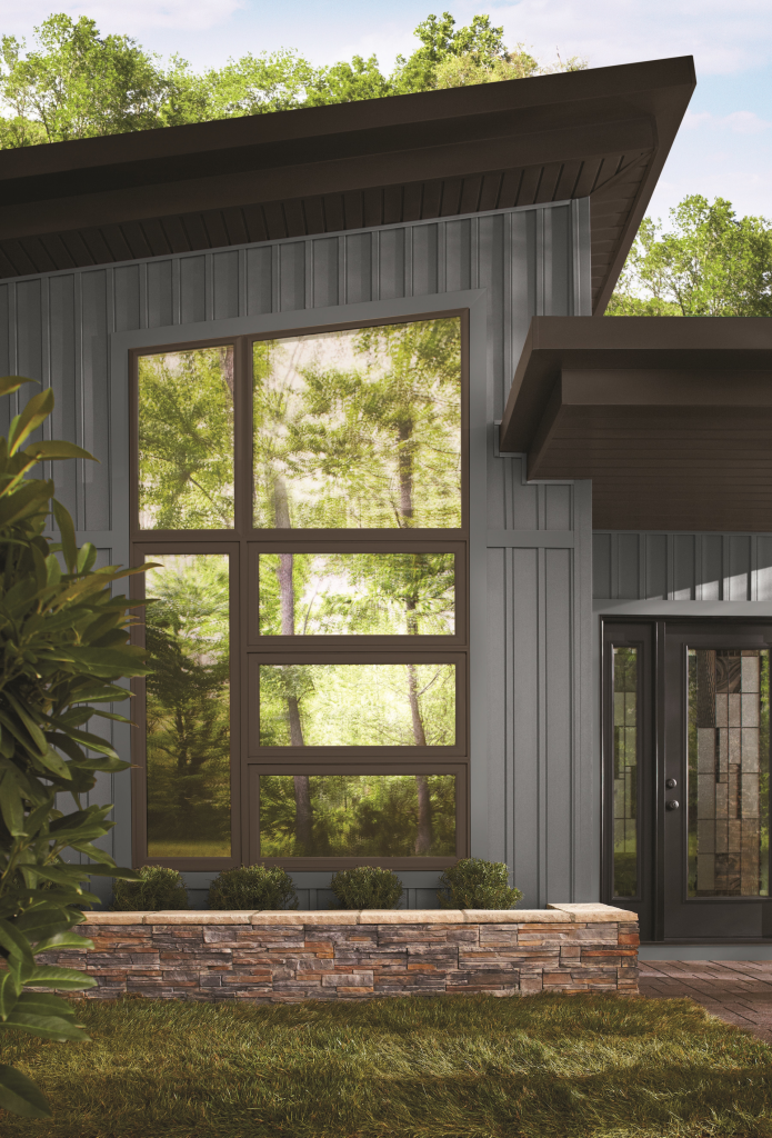 Vinyl Windows In Two Tone Color Combinations For