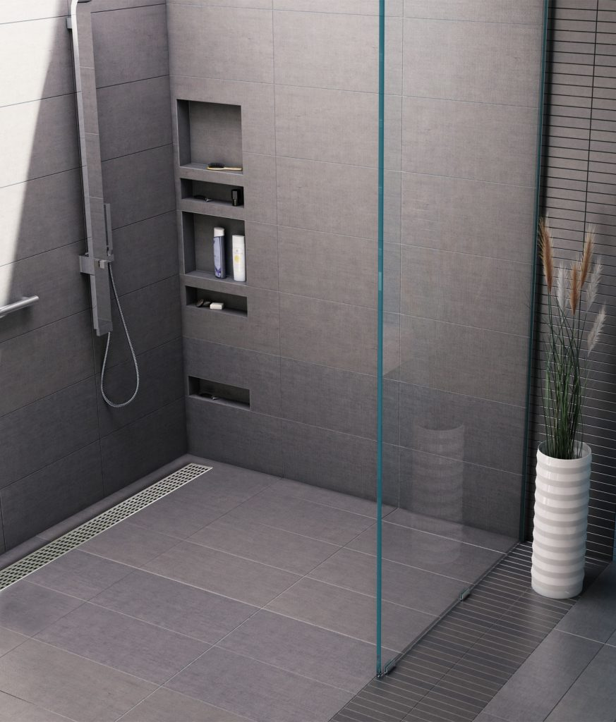 One Piece Accessible Shower Pan Qualified Remodeler
